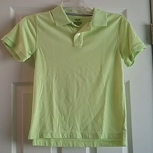 EUC Boys bright yellow polo size M 8/10